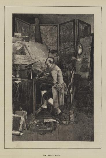 The Marine Artist--Giclee Print