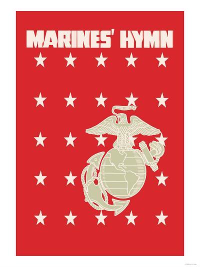 The Marines' Hymn--Art Print