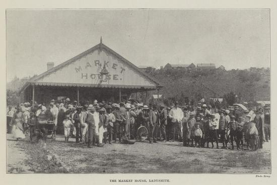 The Market House, Ladysmith--Giclee Print