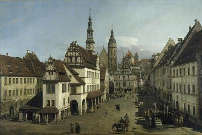 The Market Place, Pirna, 1753-54-Bernardo Strozzi-Giclee Print