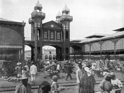 The Market Place, Port-Au-Prince, Haiti, 1926--Giclee Print
