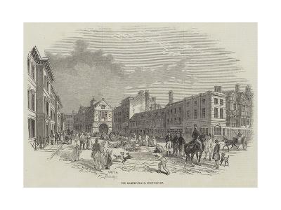 The Market-Place, Shrewsbury--Giclee Print