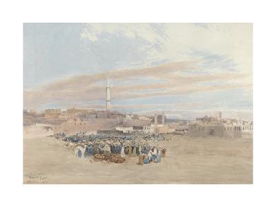 The Market Place, Tanga, Egypt, 1874-William Paton Burton-Giclee Print
