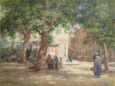 The Market Square-William Kay Blacklock-Giclee Print
