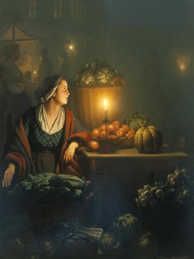 The Market Stall-Petrus van Schendel-Giclee Print