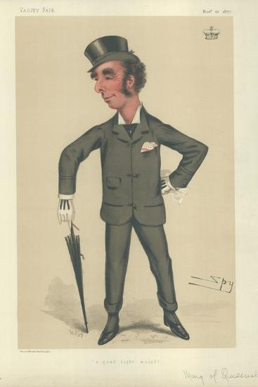 The Marquess of Queensbury-Sir Leslie Ward-Giclee Print