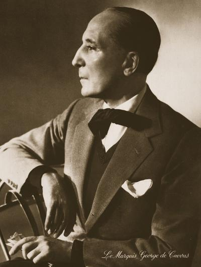 The Marquis George De Cuevas, from 'Grand Ballet De Monte-Carlo', 1949--Photographic Print