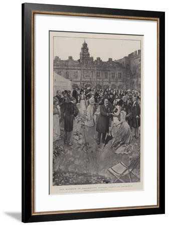 The Marquis of Salisbury's Garden Party at Hatfield-William Hatherell-Framed Giclee Print