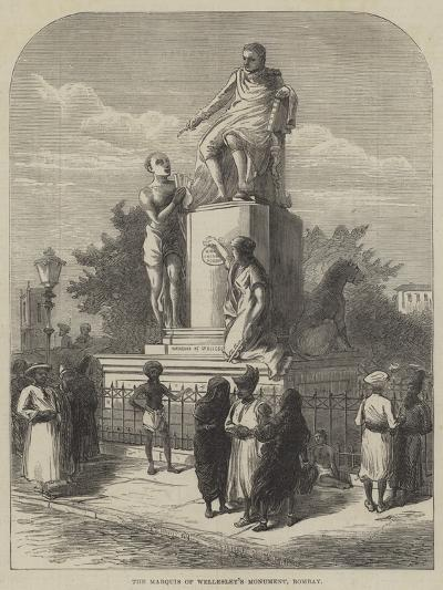 The Marquis of Wellesley's Monument, Bombay--Giclee Print