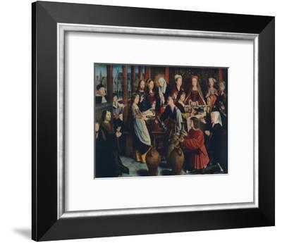 'The Marriage at Cana', c1500-Gerard David-Framed Giclee Print