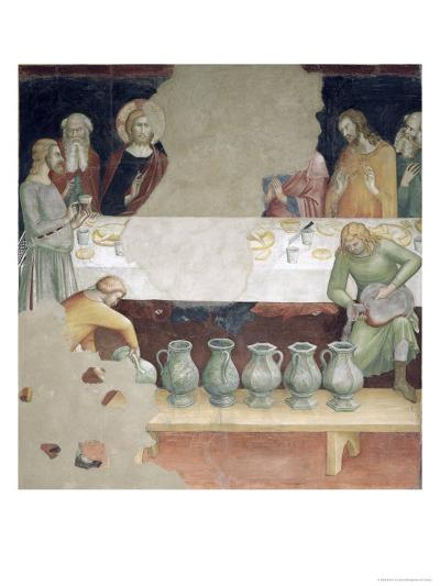 The Marriage at Cana, from a Series of Scenes of the New Testament- Barna Da Siena-Giclee Print