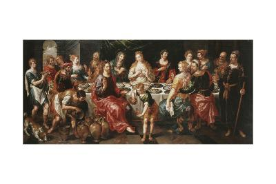 The Marriage at Cana-Hendrik De Clerck-Giclee Print