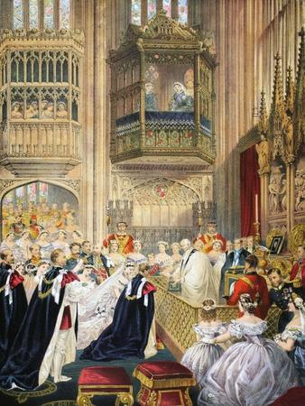 The Marriage at St George's Chapel--Giclee Print