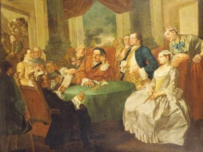 The Marriage Contract-Gaspare Traversi-Giclee Print
