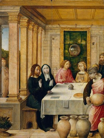 The Marriage Feast at Cana, c.1500-4- Juan de Flandes-Giclee Print