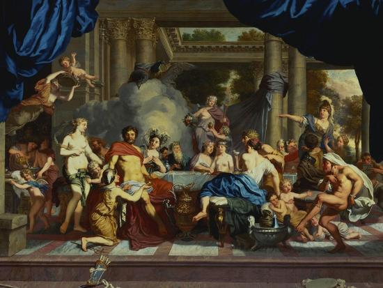 The Marriage Feast of Peleus and Thetis Giclee Print by Gerard De Lairesse    Art com