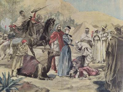 The Marriage of a European Woman to an Arab Chief, from 'Le Petit Journal', 1899--Giclee Print