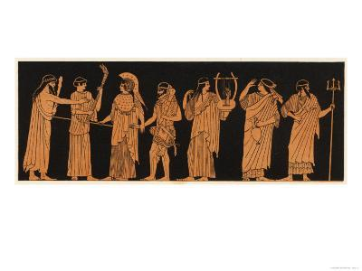 The Marriage of Athena with Herakles--Giclee Print