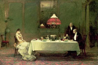 The Marriage of Convenience, 1883-William Quiller Orchardson-Giclee Print