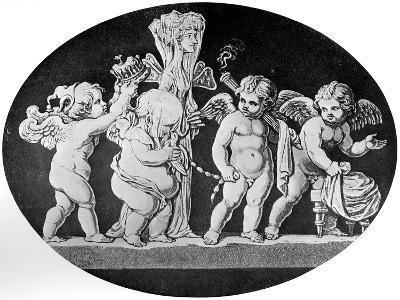 The Marriage of Cupid and Psyche, 1797--Giclee Print