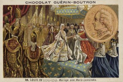 The Marriage of Louis XV of France and Marie Leszczynska, 1725--Giclee Print