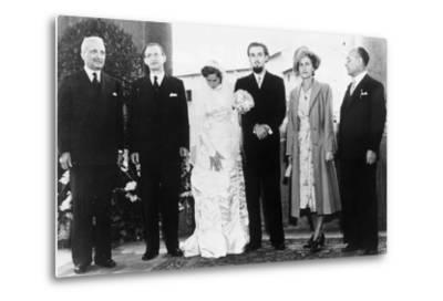 The Marriage of Maria Romana de Gasperi, Daughter of the Prime Minister of Italy, to Piero Catti,…