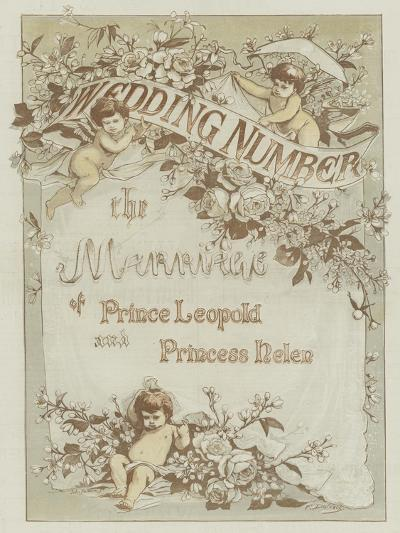 The Marriage of Prince Leopold and Princess Helen--Giclee Print