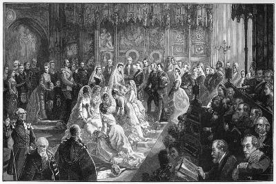 The Marriage of Princess Louise, 21 March 1871-Sydney Prior Hall-Giclee Print