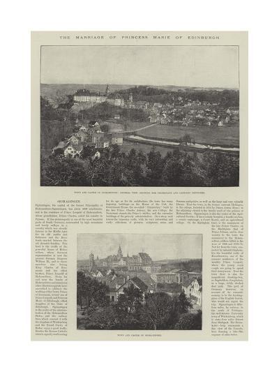 The Marriage of Princess Marie of Edinburgh--Giclee Print