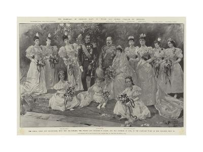 The Marriage of Princess Maud of Wales and Prince Charles of Denmark-G.S. Amato-Giclee Print
