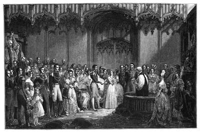 The Marriage of Queen Victoria and Prince Albert, 1840-George Hayter-Giclee Print
