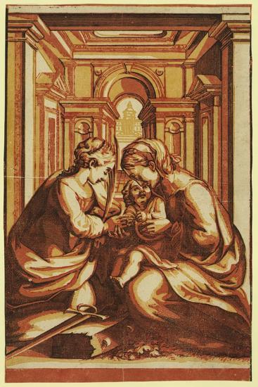 The Marriage of St. Catherine-Correggio-Giclee Print