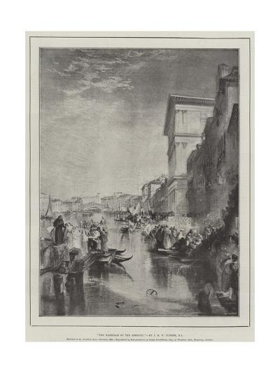 The Marriage of the Adriatic-J^ M^ W^ Turner-Giclee Print
