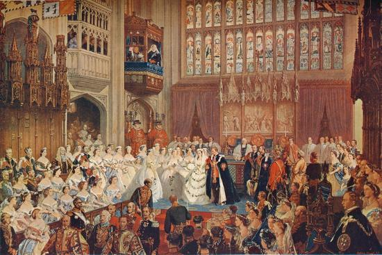 The Marriage of the Prince of Wales, 1863 (1906)-Unknown-Giclee Print