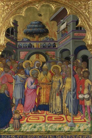 The Marriage of the Virgin, Ca 1380-Niccolò di Bonaccorso-Giclee Print