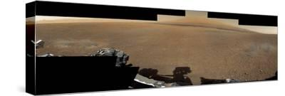 The Mars Rover, Curiosity, Inside Gale Crater Headed Toward Mount Sharp