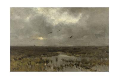 The Marsh, C. 1885-88-Anton Mauve-Giclee Print