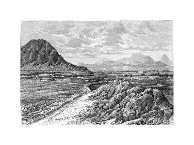 The Marsha Pass, North of Kandahar, Afghanistan, 1895--Giclee Print