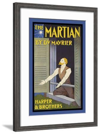 The Martian By Du Maurier-Edward Penfield-Framed Art Print