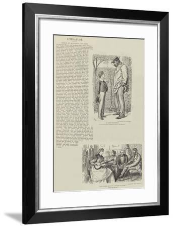 The Martian-George Du Maurier-Framed Giclee Print