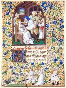 The Martyrdom from the Life of St. Apollonia, A Book of Hours