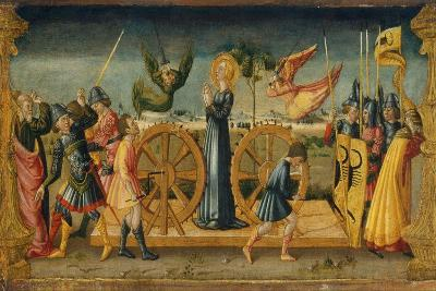 The Martyrdom of Saint Catherine-Neri Di Bicci-Giclee Print