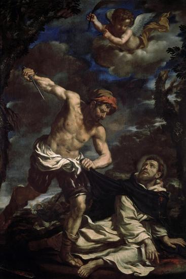The Martyrdom of Saint Peter, End 1620S-Guercino-Giclee Print