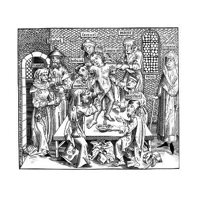 The Martyrdom of Simon of Trent, 1493-Pierre Wolgmuth-Giclee Print
