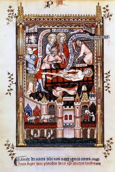 The Martyrdom of St Denis, 1317--Giclee Print