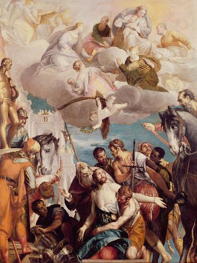 The Martyrdom of St. George-Paolo Veronese-Giclee Print