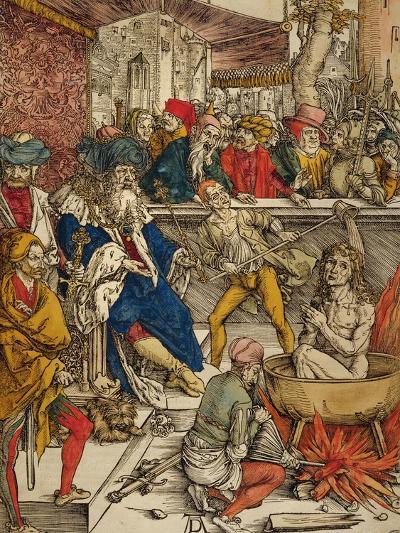 The Martyrdom of St. John, 1498-Albrecht D?rer-Giclee Print