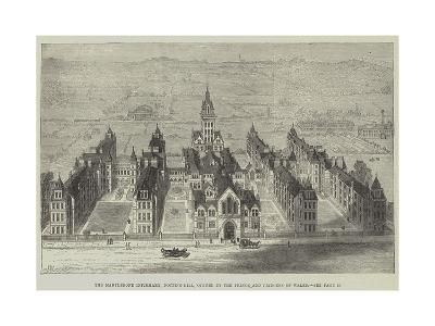 The Marylebone Infirmary, Notting-Hill, Opened by the Prince and Princess of Wales-Frank Watkins-Giclee Print
