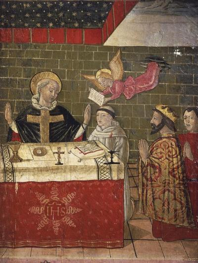 The Mass Celebrated by St Eligius in the Presence of King Dagobert I--Giclee Print