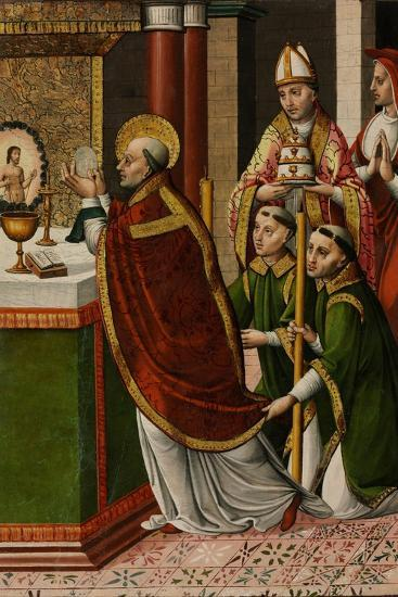 The Mass of Saint Gregory the Great--Giclee Print